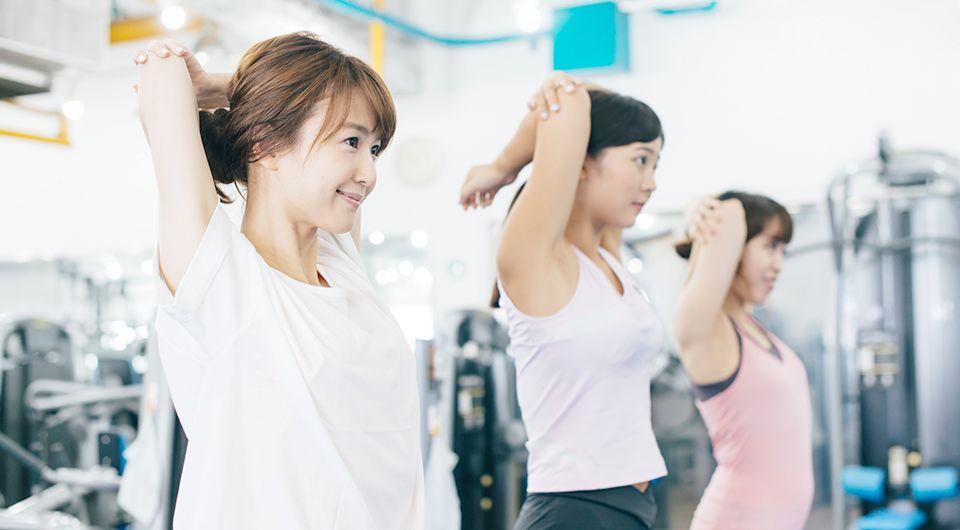 ダイエットや運動不足の解消の様子